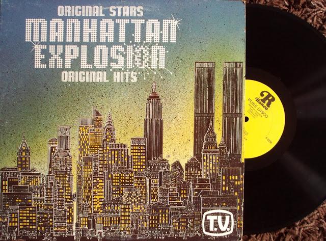Cover Album of Manhattan Explosion - Various on Ronco 1979