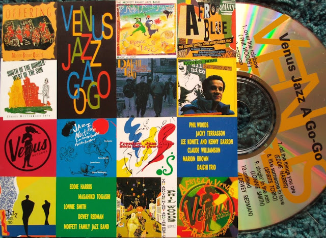 Venus Jazz A Go-Go ~ Venus Jazz Super Sampler vol.1  - Various on Venus Records 1994