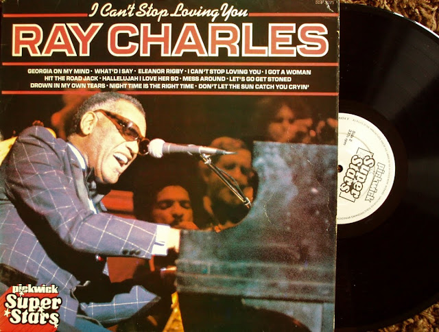 Cover Album of Ray Charles - I Can't Stop Loving You on Pickwick 1980