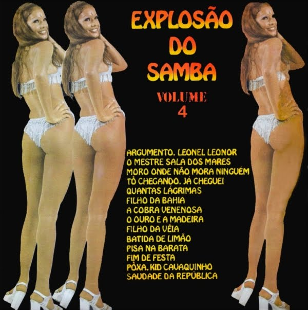 Conjunto ExplosГЈo Do Samba  - ExplosГЈo Do Samba Volume 4  on CID 1975