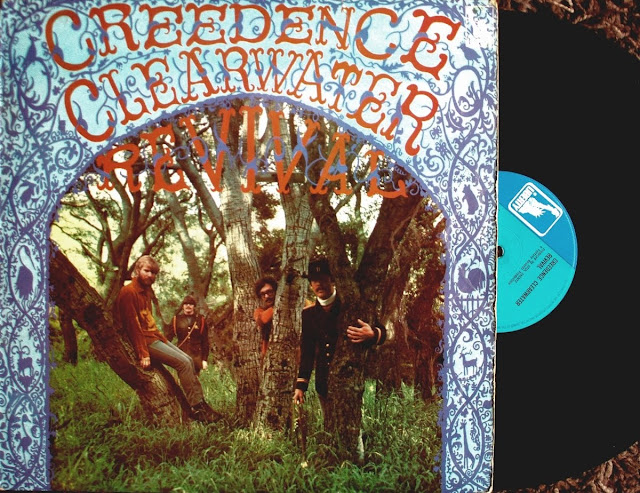 Creedence Clearwater Revival  on Fantasy / Liberty / United Artists Records 1968