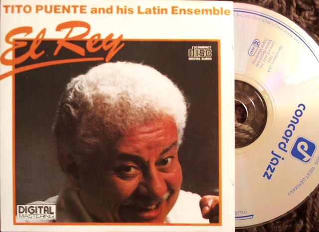 Tito Puente and his Latin Ensemble  - El Rey on Concorde / Bellaphon 1984