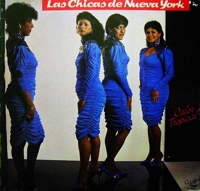 Las Chicas De Nueva York - Calor Tropical on Caiman Records 1987