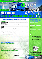 BULLETIN D'INSCRIPTION 2011