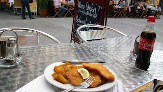 Weiner Schnitzel at Mamas Kitchen