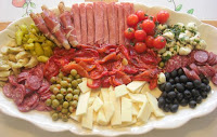 Antipasto Tray, My Way