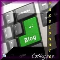 Passionate Blogger Award