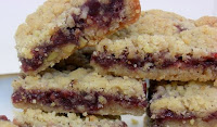 Linzer Torte Bars