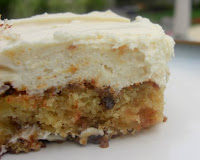 Pineapple Pecan Cake w/ Cream Cheese Frosting