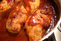 Fast Oven Barbecued Chicken
