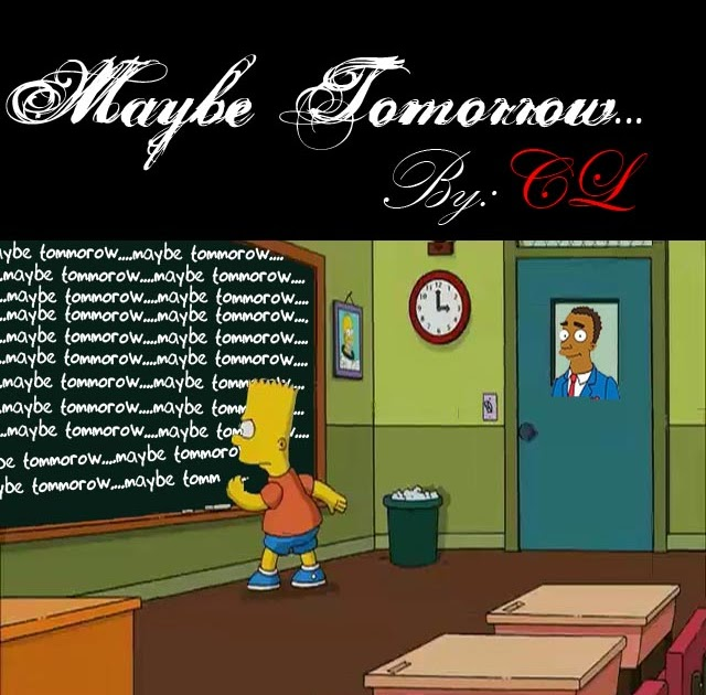 maybe tomorrow essay Review: maybe tomorrow user review - emma - mybookcorner - goodreads when i arrived in australia three years ago i went straight to the library to learn more about.