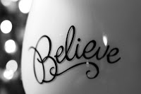 picture of the word believe