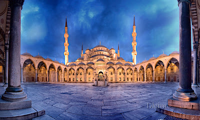 Blue Mosque by Dleiva
