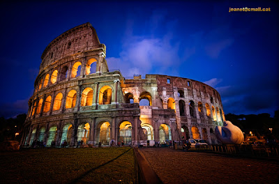 Colosseum Italy photography
