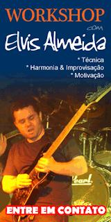 Contratar Workshop de guitarra com Elvis Almeida - www.elvisalmeida.com