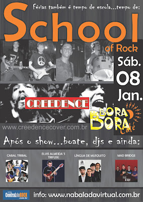Festa SCHOOL OF ROCK - Bora Bora Café