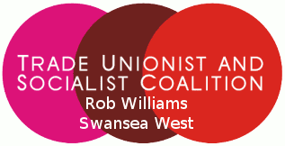 Rob Williams - TUSC Candidate for Swansea West
