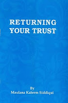 BOOK: RETURNING YOUR TRUST