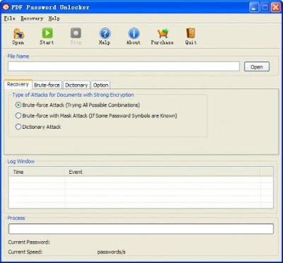 PDF Password Unlocker v4.0.2.5 Portable - software gratis, serial number, crack, key, terlengkap