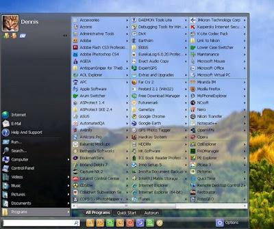 Start Menu 7 Pro 3.71 - software gratis, serial number, crack, key, terlengkap