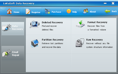 LeKuSoft Data Recovery 1.0.0.2 - software gratis, serial number, crack, key, terlengkap