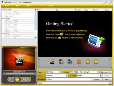 3herosoft MP4 Video Converter 3.5.4.0924 - software gratis, serial number, crack, key, terlengkap