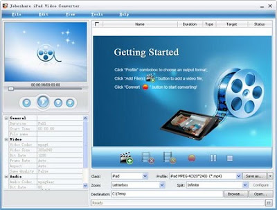 Joboshare iPod Video Converter 2.8.2.0923 - software gratis, serial number, crack, key, terlengkap