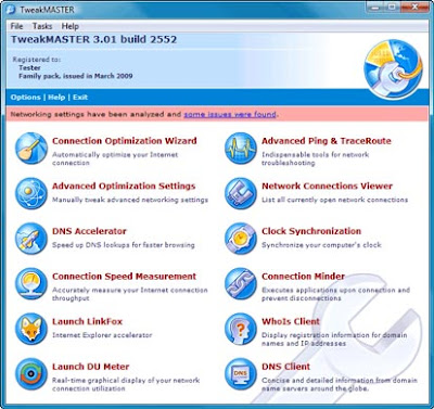 TweakMASTER Pro 3.14 Build 3304 - software gratis, serial number, crack, key, terlengkap