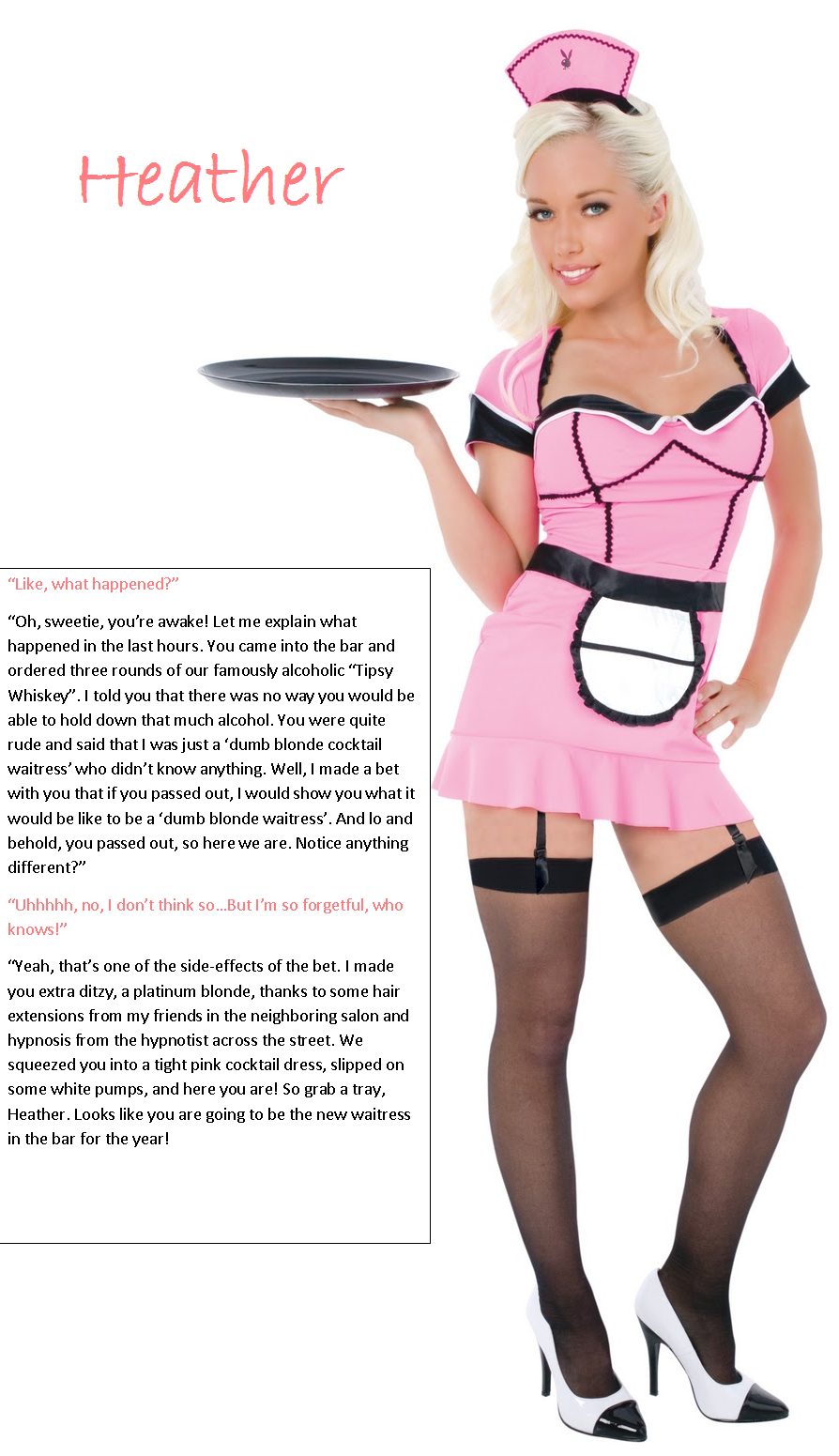 Erotic stories the waitress