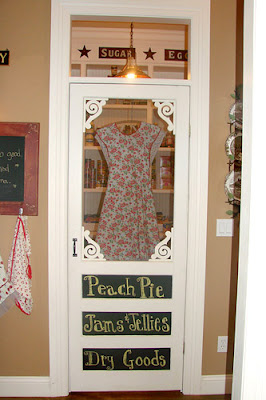 Okay, Granted This Is Not A Door To Outside...but To A Pantry! Isnu0027t It  WONDERFUL?!?! This Came From The Sugar Pie Farmhouse...whose Site You MUST  Visit!!