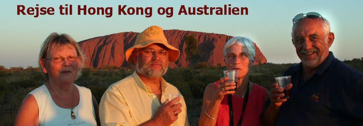 Rejse til Australien