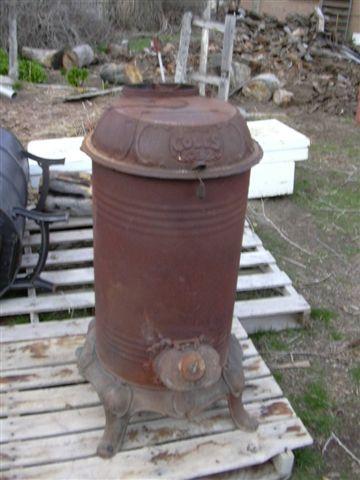 Jerry's Stuff: 1898 Coles wood / coal burning stove