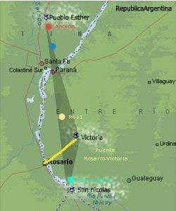 El triangulo misterioso en Argentina