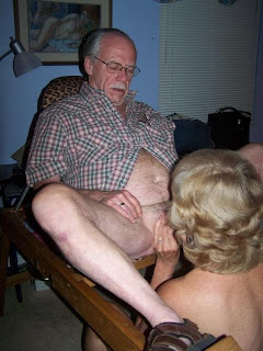 grandpa gets sucked