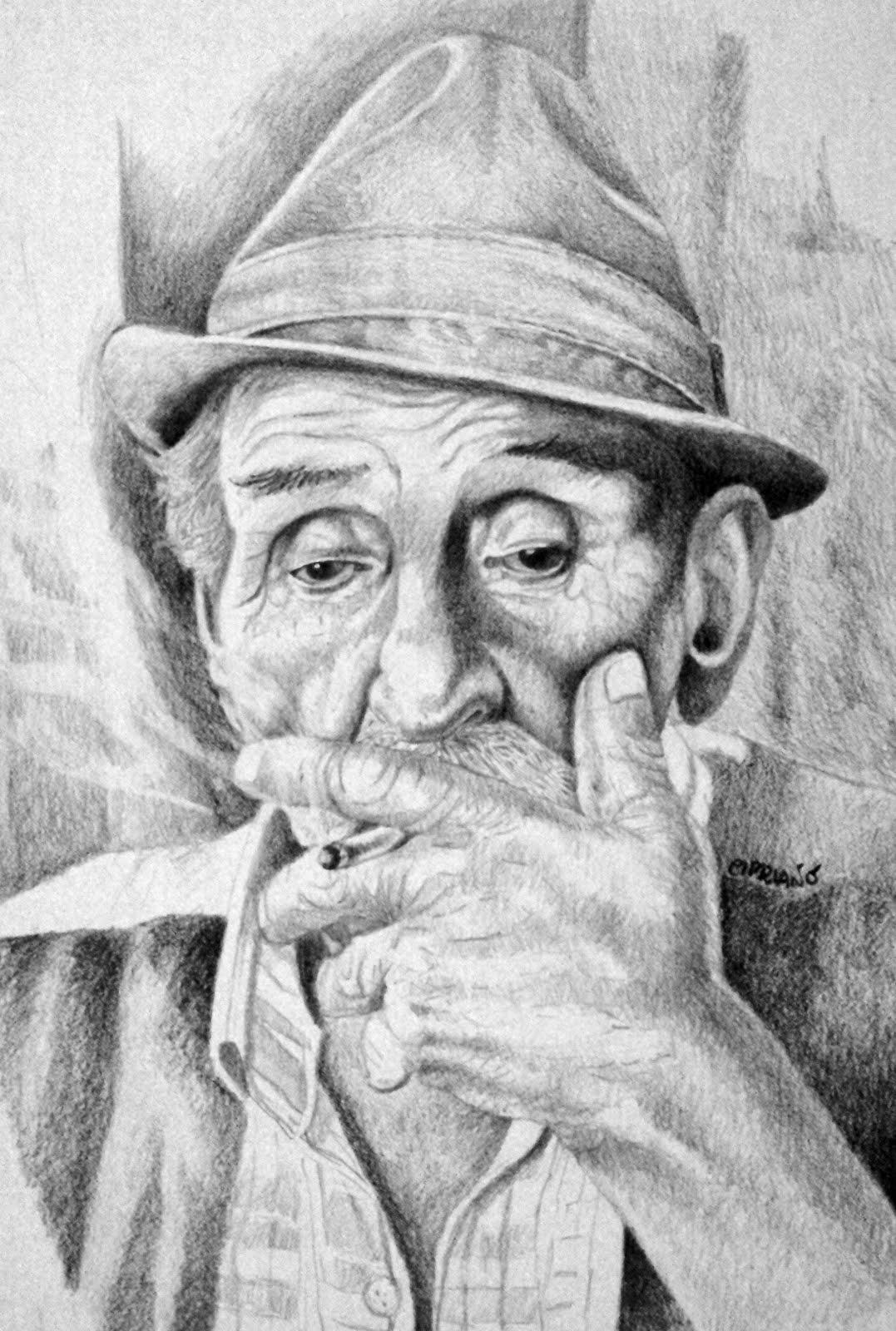 disegni di occhi a matita