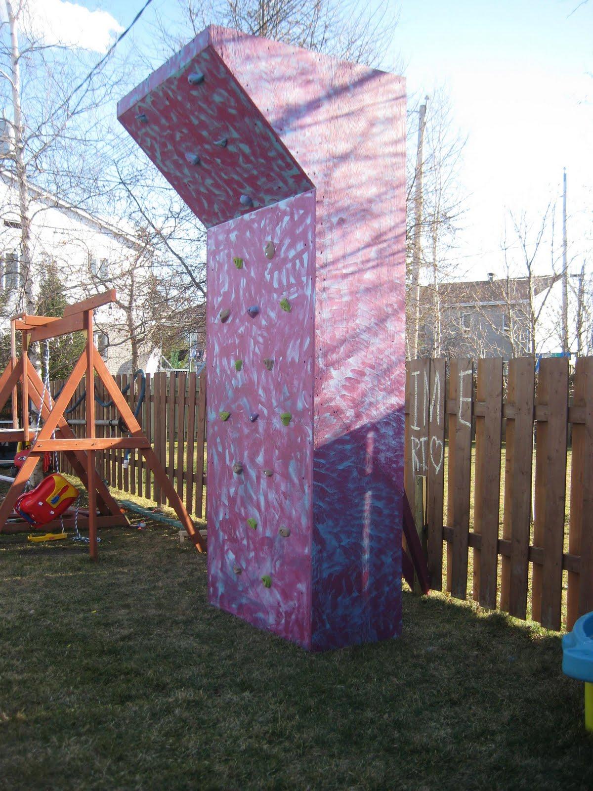 """Exceptionnel Blog de Jasmin Marinelli: Mur d'escalade """"homemade"""" pour les enfants ZM08"""