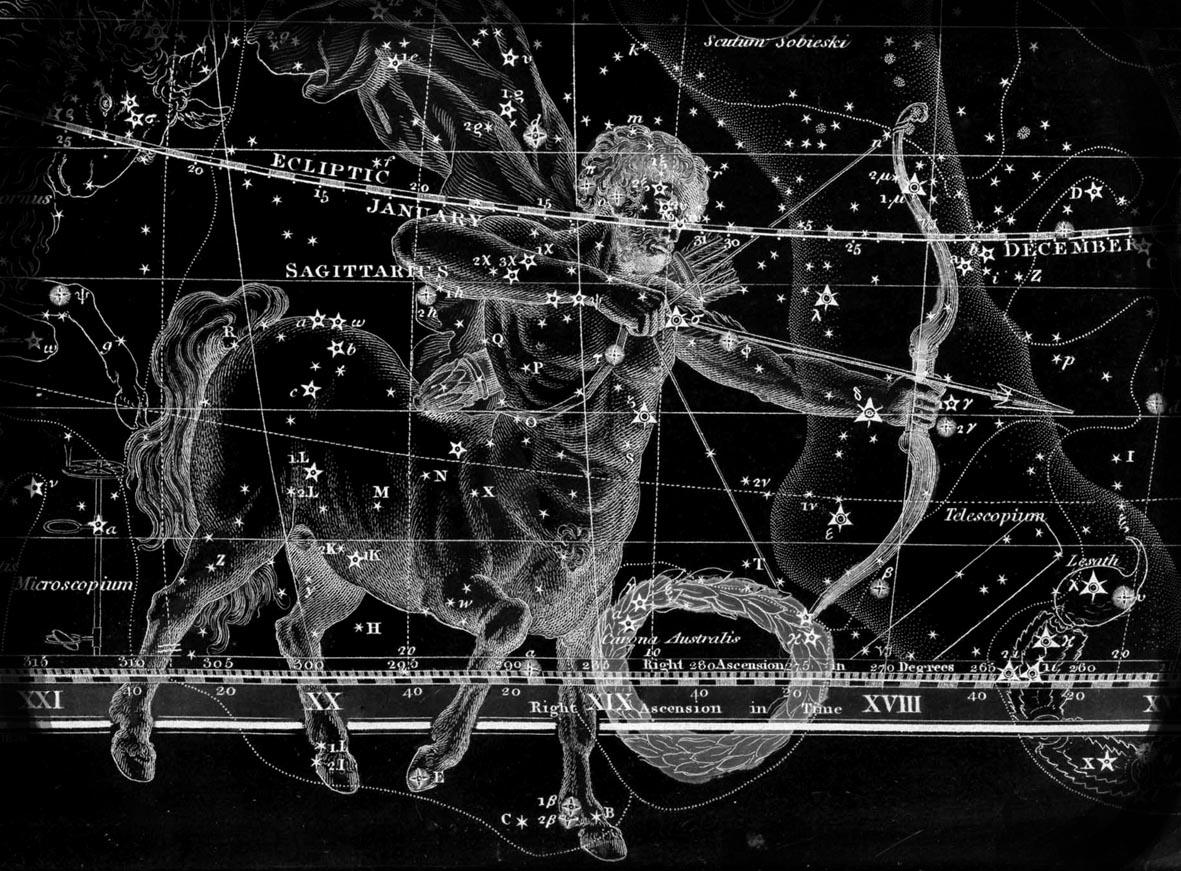 Moon in sagittarius man in love