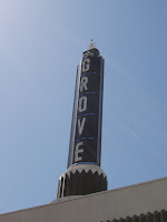 The Grove rooftop sign, Los Angeles