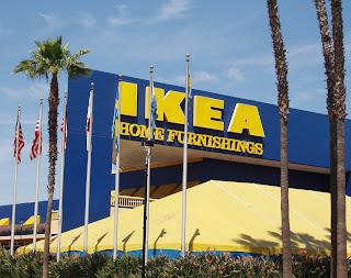 IKEA store, Burbank town centre, California