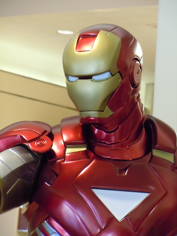 Iron Man 2 suit helmet