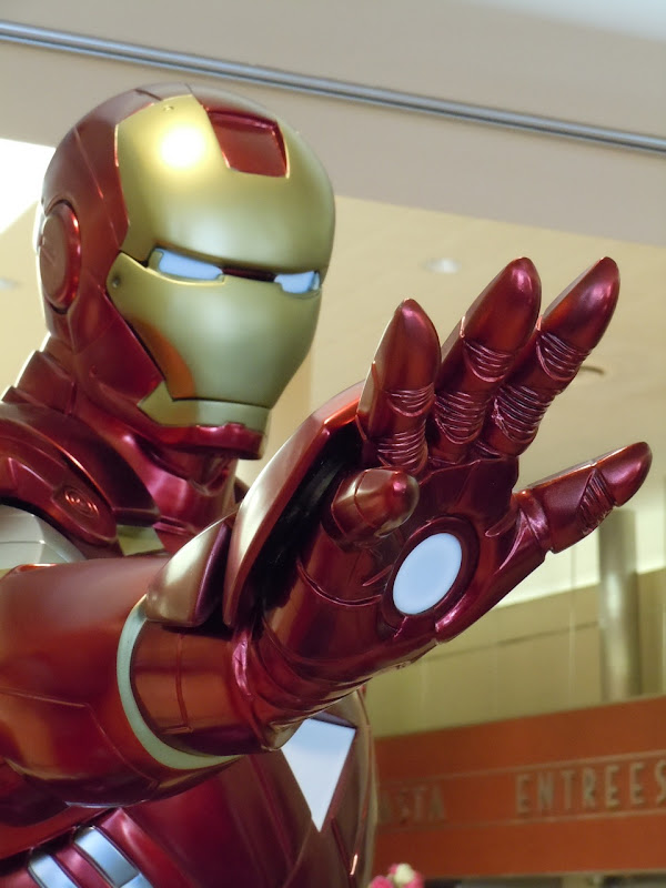 Iron Man 2 costume close-up