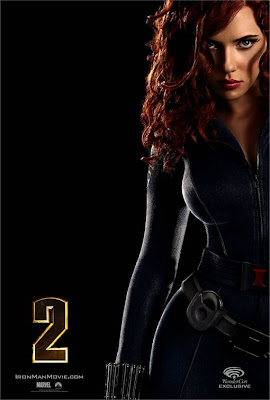 Black Widow Iron Man 2 poster