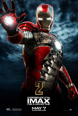 Iron Man 2 briefcase armour poster
