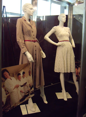 Costumes worn by Meryl Streep and Amy Adams in Julie & Julia