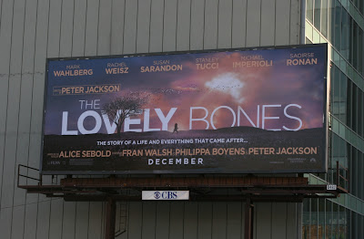 The Lovely Bones film billboard