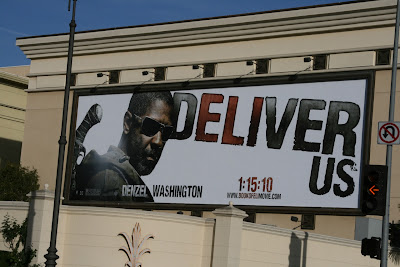 Book of Eli movie billboard