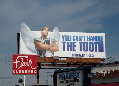 Tooth Fairy movie billboard