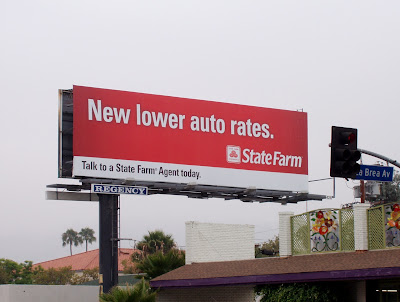 Statefarm financial billboard