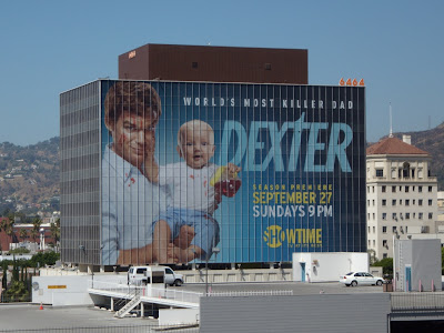 Dexter TV show billboard