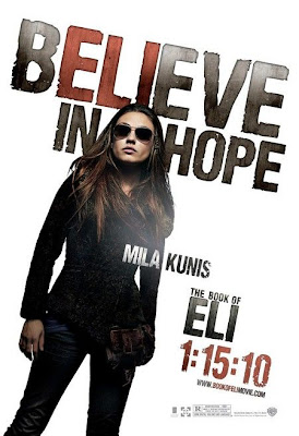 The Book of Eli Mila Kunis poster